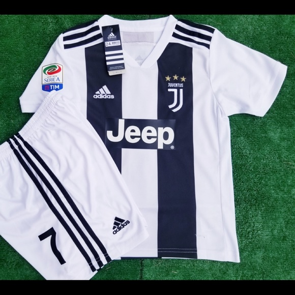 c39a93aea89 adidas Matching Sets | Juventus Kids Soccer Jersey Shorts Youth Kit ...